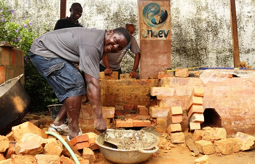 Building of Improved Efficient Institutional Cook Stove, EnDev Liberia