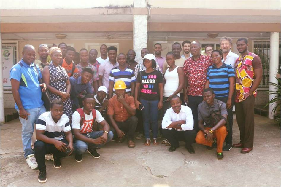 Technical Workshop for Solar System Installers at the GIZ/EnDev Office in Congo Town, January 16, 2018