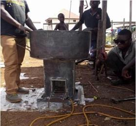 Production of an improved institutional stove (Kpoh Stove) prototype in Liberia